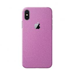 3mk Ferya ochranná fólie na záda pro Apple iPhone X matná růžová