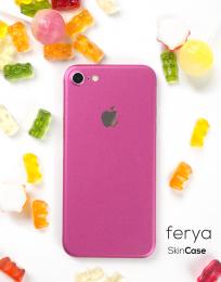 3mk Ferya ochranná fólie na záda pro Apple iPhone 7 matně růžová