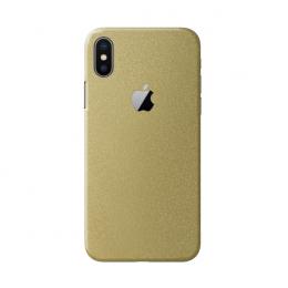 3mk Ferya ochranná fólie na záda pro Apple iPhone X lesklá zlatá