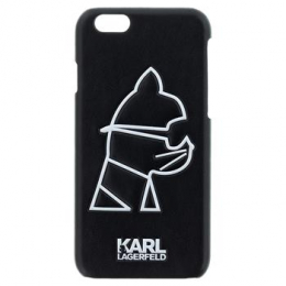 Pouzdro Karl Lagerfeld Head Punk TPU pro Apple iPhone 6/6S