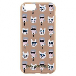 Pouzdro Karl Lagerfeld The Artist TPU pro Apple iPhone 6/6S