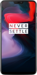 OnePlus 6 6GB/64GB Dual SIM Mirror Black