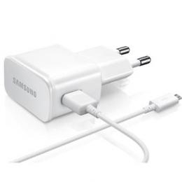 Nabíječka Samsung ETA-U90EW + datový kabel ECB-DU4AWE originální MicroUSB bílá