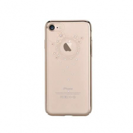 Pouzdro Devia TPU pro Apple iPhone 7/8 Swarowski Rose Gold