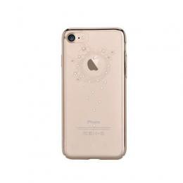 Pouzdro Devia TPU pro Apple iPhone 7/8 Swarowski Gold