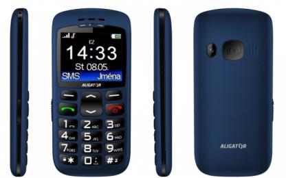 Aligator A670 Senior Blue