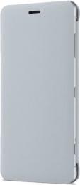 Pouzdro Sony SCSH50 Style Stand Cover pro Xperia XZ2 Compact šedé