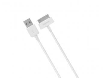 Datový kabel ECBDP4AWE pro Samsung Galaxy Tab bílý