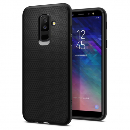 Pouzdro Spigen (597CS24095) Liquid Air pro Samsung A605 Galaxy A6 Plus 2018 Black