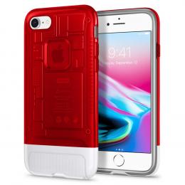 Pouzdro Spigen (054CS24402) Classic C1 pro Apple iPhone 7/8 Ruby