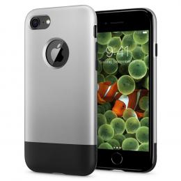 Pouzdro Spigen (054CS24406) Classic One pro Apple iPhone 7/8 Aluminium Grey