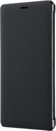 Pouzdro Sony SCSH40 Style Cover Flip pro Sony Xperia XZ2 Black
