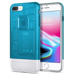 Pouzdro Spigen (055CS24428) Classic C1 pro Apple iPhone 7/8 Plus Blueberry