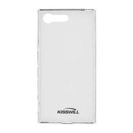 Pouzdro Kisswill TPU Sony Xperia X Compact čiré