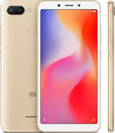 Xiaomi Redmi 6 3GB/32GB Global Dual SIM Gold
