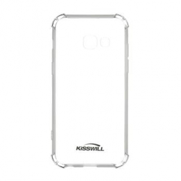 Pouzdro Kisswill Shock TPU pro Samsung A320F Galaxy A3 2017 čiré