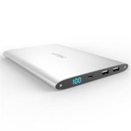 Powerbanka Vinsic Ultra SLIM Dual Power Bank 20.000 mAh Silver
