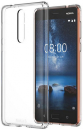 Pouzdro Nokia CC-109 Slim Crystal Cover pro Nokia 5.1 čirý