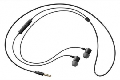 Sluchátka EO-HS130BEGWW s 3.5mm jack konektorem černá