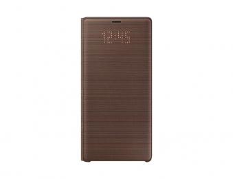 Pouzdro Samsung EF-NN960PA pro Samsung N960F Galaxy Note 9 hnědé