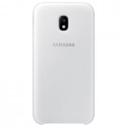 Pouzdro Samsung EF-PJ330CWE Dual Layer Cover pro Galaxy J3 2017 bílé