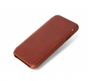Pouzdro Decoded (D8IPO61SW3CBN) Leather SLIM Wallet pro Apple iPhone XR hnědé