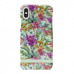 Pouzdro SoSeven (SSBKC0017) Hawai Case Tropical pro Apple iPhone X/XS modré