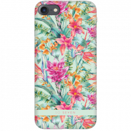 Pouzdro SoSeven (SSBKC0054) Hawai Case Tropical pro Apple iPhone 6/6S/7/8 modré