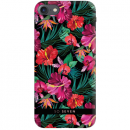 Pouzdro SoSeven (SSBKC0055) Hawai Case Tropical pro Apple iPhone 6/6S/7/8 černé