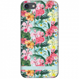Pouzdro SoSeven (SSBKC0056) Hawai Case Flamingo pro Apple iPhone 6/6S/7/8