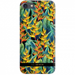 Pouzdro SoSeven (SSBKC0057) Hawai Case Tropical pro Apple iPhone 6/6S/7/8 žluté