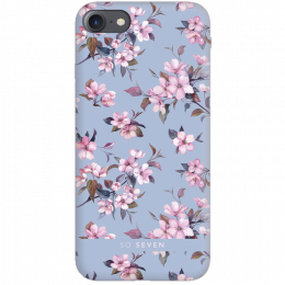 Pouzdro SoSeven (SSBKC0040) Tokyo Case Cherry pro Apple iPhone 6/6S/7/8 modré