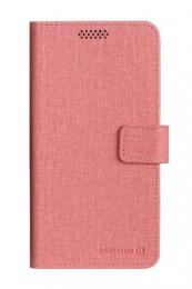 Pouzdro Swissten Libro Univerzální velikost L růžové