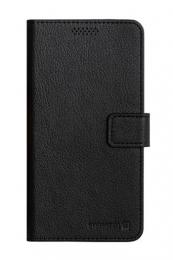 Pouzdro Swissten Libro Univerzální velikost XL černá koženka