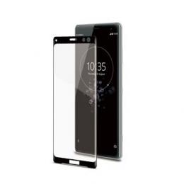 Celly Tvrzené sklo 3D pro Sony Xperia XZ3 černé