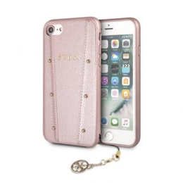 Pouzdro Guess (GUHCI8KAILRG) Kaia Hard Case pro Apple iPhone 7/8 Rose Gold