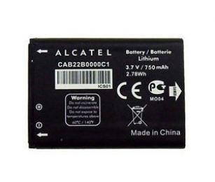 Baterie Alcatel CAB0750004C1 s kapacitou 750 mAh