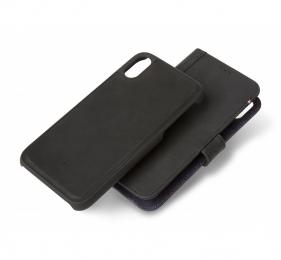 Pouzdro Decoded (D8IPO58DW1BK) Leather 2v1 Wallet pro Apple iPhone X/XS černé