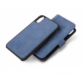 Pouzdro Decoded (D8IPO58DW1LB) Leather 2v1 Wallet pro Apple iPhone X/XS modré