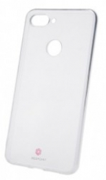 Pouzdro RedPoint Silicon Exclusive pro Xiaomi Mi 8 Lite čiré