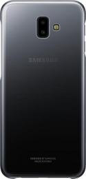 Pouzdro Samsung EF-AJ610CBE Gradation Clear pro Samsung J610F Galaxy J6+ Clear Black