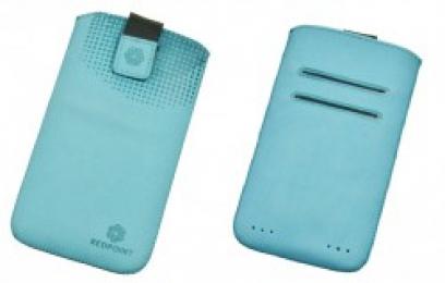 Pouzdro RedPoint Velvet Pocket 4XL modré