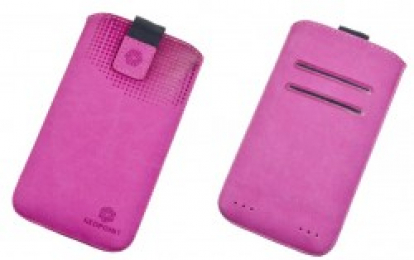 Pouzdro RedPoint Velvet Pocket 4XL růžové