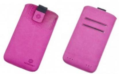 Pouzdro RedPoint Velvet Pocket 5XL růžové