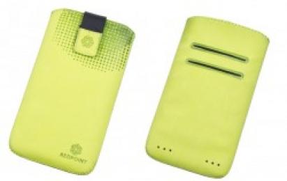 Pouzdro RedPoint Velvet Pocket 4XL zelené