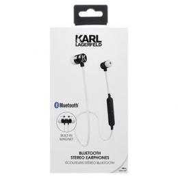 Bezdrátová sluchátka Karl Lagerfeld (CGBTE07) Wireless Stereo White