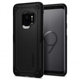 Pouzdro Spigen (592CS22842) Hybrid Armor pro Samsung G960F Galaxy S9 černé