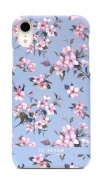 Pouzdro SoSeven (SSBKC0094) Tokyo Case Cherry pro Apple iPhone Xr modré