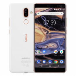 Nokia 7 Plus Dual SIM White Copper