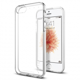 Pouzdro Spigen (041CS20247) Liquid Crystal pro Apple iPhone 5S/SE Clear